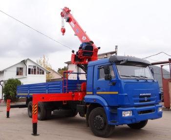 Автомобиль КАМАЗ 65117  с КМУ KANGLIM KS1256G-II
