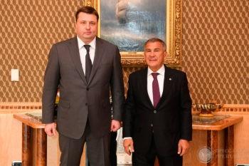 Главы республики Татарстан и «Росагролизинга» обсудили поставки сельхозтехники