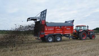 Навозоразбрасыватель Metal-Fach N-272 21 тонна