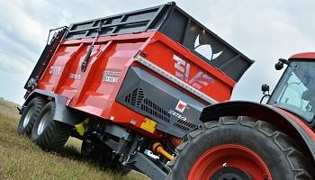 Навозоразбрасыватель Metal-Fach N272/3 18 тонн